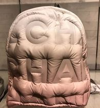 Runway2018★CHANEL★DOUDOUNE BACKPACK EMBOSSED NYLON 各色