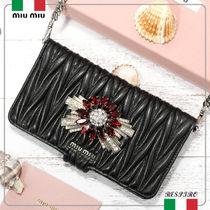 MiuMiu【新作】Matelasse  iPhone 6/7Plusケース★5ZH039