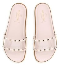 VALENTINO Slides With Clear Detail