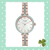 関税込☆Kate Spade ☆Pink IP Holland Watch