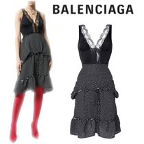 【18SS】大注目!!★BALENCIAGA★Lingerie top dress