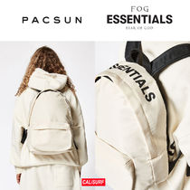 【限定】FEAR OF GOD(フィアオブゴッド)x Pacsun backpack-white