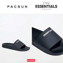 【限定】FEAR OF GOD x PACSUN サンダル -BLACK