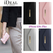 ☆iDEAL OF SWEDEN☆手帳型♪iPhone 6/6s Plusケース*4色