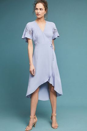 Anthropologie☆Calin Wrapped Dress