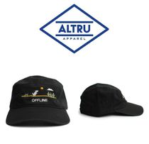 【ALTRU 】☆海外限定☆OFFLINE DINO EMBROIDERY 5 PANEL CAP
