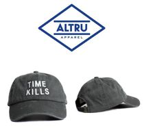 【ALTRU 】☆海外限定☆TIME KILLS EMBROIDERY CAP