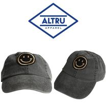 【ALTRU 】☆海外限定☆SMILEY FACE 6 PANEL PROFILE PATCH CAP