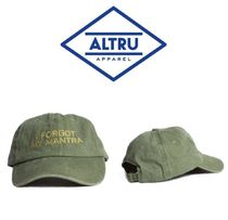 【ALTRU 】☆海外限定☆I FORGOT MY MANTRA EMBROIDERED CAP