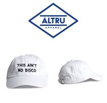 【ALTRU 】☆海外限定☆THIS AIN'T NO DISCO EMBROIDERED CAP