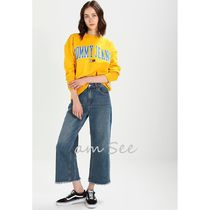 2018SS【Tommy Jeans】COLLEGIATE スウェット イエロー
