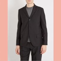 数量限定 ACNE STUDIOS Lund single-breasted wool-blend blazer
