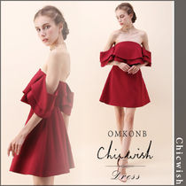 【国内発送・関税込】Chicwish★Splendor Off-Shoulder Dress