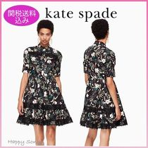 kate spade◆上品なワンピース◆botanical poplin dress