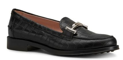 VERY掲載 TOD'S MOCASSINS IN LEATHER XXW0RU0Q961JSTB999