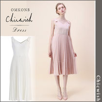 【国内発送・関税込】Chicwish★Felicity Pleated Cami Dress