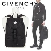 【GIVENCHY】新作◆ナイロン スターパッチ バッグパック