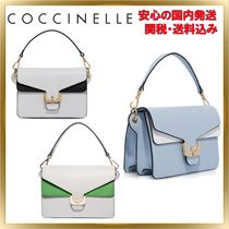 COCCINELLE(コチネレ) ショルダーバッグ・ポシェット ◇COCCINELLE◇ Ambrine Leather Shoulder Bag 【関税送料込】