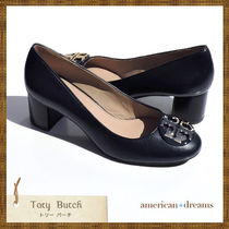 SALE! Tory Burch (トリーバーチ) つま先ロゴパンプスNAVY