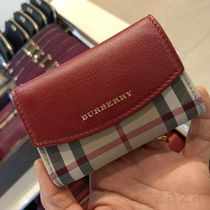 SALE♪Burberry♪ カードケース★Red