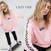 LAZY OAF(レイジーオーフ) Tシャツ・カットソー ◆NEW◆LAZY OAF × VANS◆チェッカーボード 長袖 Tシャツ