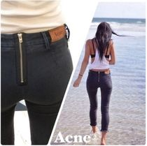 ACNE Skin5 Rocca black バックジッパースーパースキニー jeans