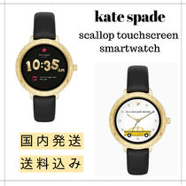 【送料込】Kate spade scallop touchscreen smartwatch Black