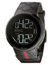 大特価 GUCCI YA114207 44mm 114 I-Gucci Men's Digital Watch