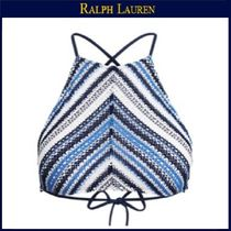 【ラルフローレン】Striped Crocheted Bikini Top★Indigo/Blue