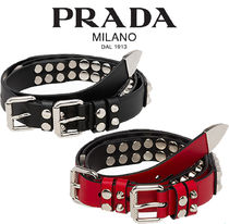 PRADA【関税・送料込☆】studded leather belt