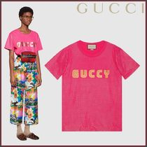 GUCCI(グッチ) T-shirt con stampa Guccy Tシャツ