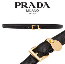 PRADA【関税・送料込☆】saffiano leather belt