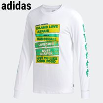 関送込☆adidas Hommes Island Love Affair T-Shirt☆ホワイト