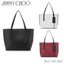 JIMMY CHOO TWIST EAST WEST[OSJ][レザートートバッグ]