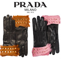 PRADA【関税・送料込☆】nappa leather gloves