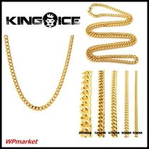 ★King Ice 14k Gold Miami Cuban Curb CHAINS  【関税送料込】