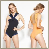 Marysia*OXFORD MAILLOT クロスフロント ワンピース水着*2色