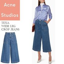 ACNE Texa Wide Leg Crop Jeans Vintage  ワイドレッグジーンズ