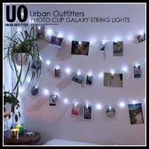 URBAN OUTFITTERS PHOTO CLIP GALAXY STRING LIGHTS 43327907007
