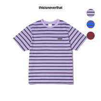 thisisneverthat(ディスイズネバーザット) Tシャツ・カットソー ★thisisneverthat★ striped tee