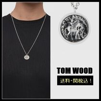 【TOM WOOD】国内送関込!Coin  シルバーネックレス 18in