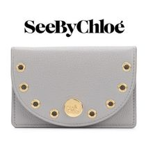 【18SS】大注目!!★SEE BY CHLOE★Kriss two-piece wallet