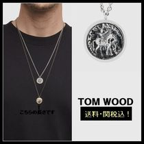 【TOM WOOD】国内送関込!Coin  シルバーネックレス 27in
