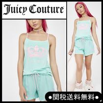 """Juicy Couture"""" パジャマ上下セット ロゴタンク&ショーツ"""