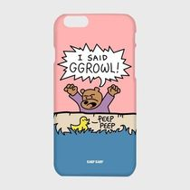 Ggrowl-pink/yellow/blue/hardcase/iPhone/Galaxyすべて対応☆