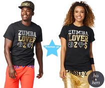 H30.4月新作☆【ZUMBA】ズンバ Zumba Lovers Tee Z3T00119