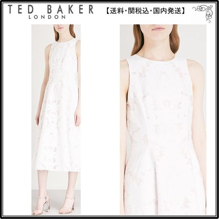 158861894d5ced TED BAKER ワンピース  関税込 TED BAKER ワンピース☆Damask devore stretch-cotton ...