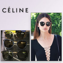 18ss celine 大人気 Cat Eye sunglasses レア dark habana 直営