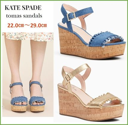 【kate spade】 tomas sandals トーマス