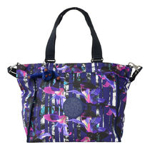 Kipling 2WAYバッグ NEW SHOPPER L K16659 10X Urban Flower Bl